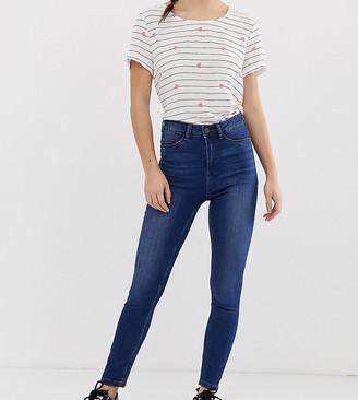 Noisy May Petite high waist skinny jean