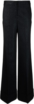Victoria Victoria Beckham Flared High-Rise Trousers