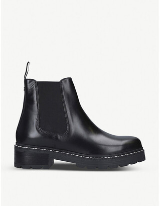 Carvela Taken leather Chelsea boots