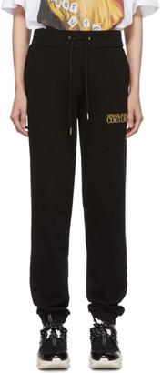 Versace Black Logo Lounge Pants