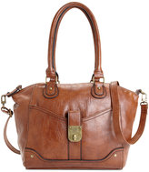 Style&Co. Style & Co. Twistlock Satchel Crossbody, Only at Macy's