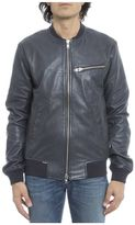S.W.O.R.D. Blue Leather Jacket