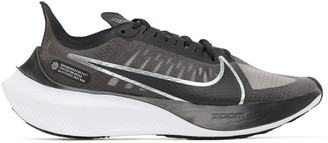 Nike Black and Grey Zoom Gravity Sneakers