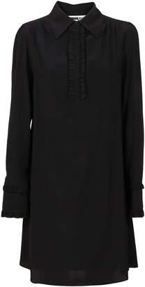McQ Black Silk Dress