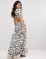 d.RA Shadow Tulip Maxi Dress with Cut Outs