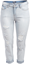 Dollhouse Glacier Blue Crop Jeans - Plus