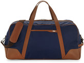 Cole Haan Large Nylon Duffle Bag, Navy/Luggage