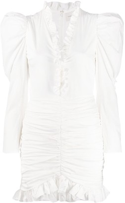 Giuseppe di Morabito Ruffle Trim Dress