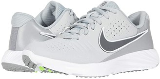 Nike Kids Alpha Huarache 3 Turf BG Baseball (Little Kid/Big Kid) (Light Smoke Grey/Iron Grey/Smoke Grey/White) Kid's Shoes