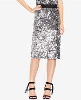 Vince Camuto Sequinned Pencil Skirt