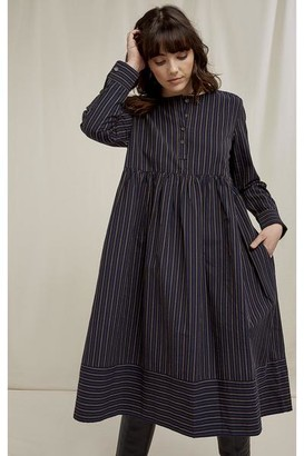 People Tree Freja Striped Dress - 10