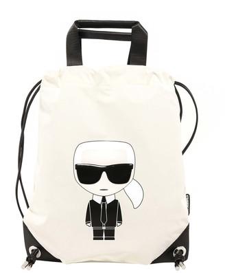 Karl Lagerfeld Paris K/Ikonik Flat Backpack