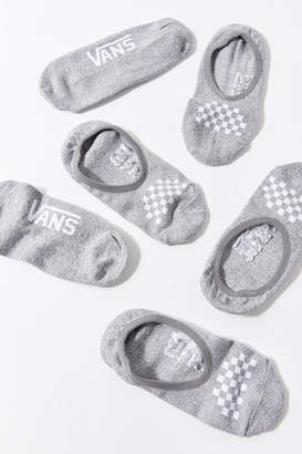 Vans Classic Canoodle Heathered No-Show Liner Sock 3-Pack