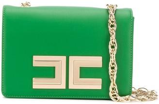 Elisabetta Franchi Logo Shoulder Bag