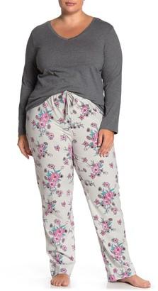 Joe Fresh Mix Match Print 2-Piece Pajama Set (Plus Size)