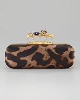 Knuckle-Duster Oblong Clutch Bag