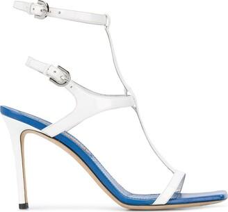 Emilio Pucci Strappy Stiletto Sandals