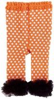 YL YueLian Kids Girl Polka Dot Pattern Panty Tights Legging Stocking