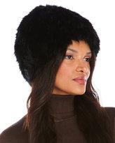 Badgley Mischka Faux Mink Fur Ushanka Hat