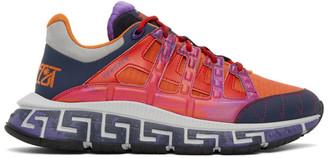 Versace Multicolor Trigreca Sneakers
