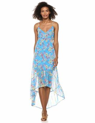 BCBGeneration Women's Island Floral High-Low Dress