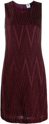 M Missoni Geometric Print Shimmer Dress