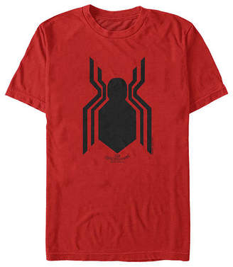 Fifth Sun Homecoming Logo Mens Crew Neck Short Sleeve Spiderman Graphic T-Shirt