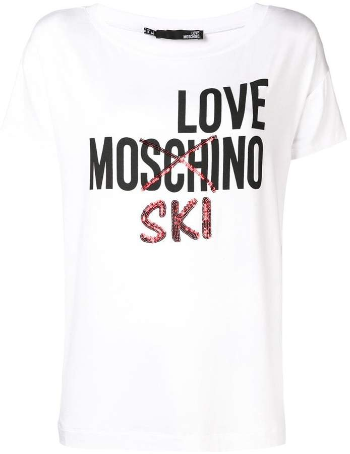 57bb7316 Love Moschino Tee For Women - ShopStyle
