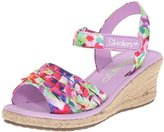 Skechers Tikis Espadrille Wedge Sandal (Little Kid/Big Kid)