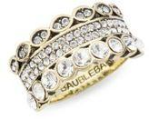 BaubleBar Slip-On Crystal Ring