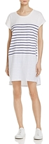 Sundry Stripe Tee Shirt Dress