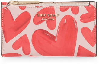 Kate Spade Small Spencer Ever Fallen Slim Bifold Wallet