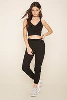 Forever 21 FOREVER 21+ Classic Heathered Joggers