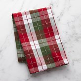 Crate & Barrel Stitched Check Dish Towel