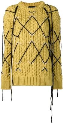 Calvin Klein Intarsia Knit Sweater
