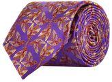 Harrods Of London Jacquard Feather Tie