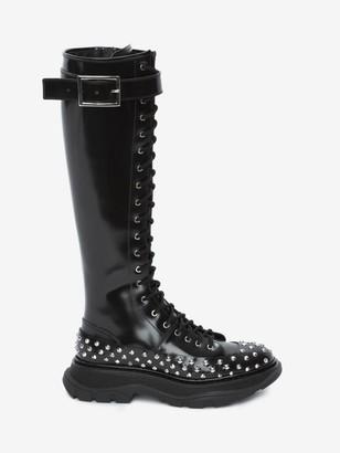 Alexander McQueen Tread Lace Up Boot