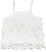 Bardot Junior Girls' Rara Lace Cropped Top - Sizes 8-16