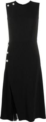 Ermanno Scervino Wrap-Front Sleeveless Dress