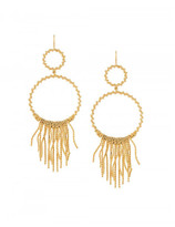 Aurelie Bidermann 'Marissa' chandelier hoop earrings