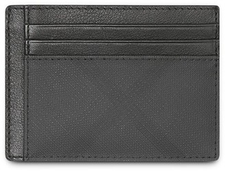 Burberry London Check and Leather Card Case