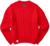 Ralph Lauren Cable-Knit Sweater, Big Girls (7-16)