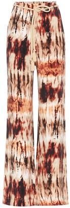 Nanushka Giada tie-dye wide-leg pants