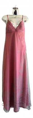 La Perla Pink Polyester Dresses
