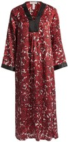 Oscar de la Renta Zahara Nights Caftan - Zip Front (For Women)
