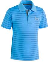 Under Armour Boys' Striped Playoff Polo - Little Kid
