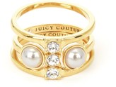 Juicy Couture Pearl Wishes Rings