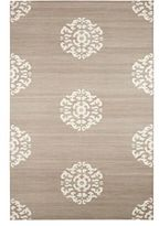 Madeline Weinrib Mandala Cotton Carpet-GREY