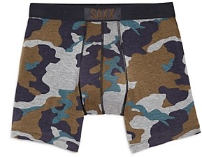Saxx Vibe Camouflage Print Boxer Briefs