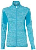 adidas A199 Golf Women's Space Dyed Full-Zip Jacket Solar Blue XL